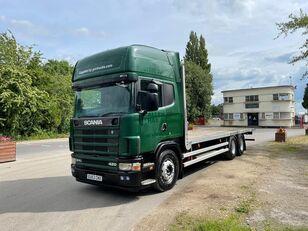 SCANIA L124 camión caja abierta