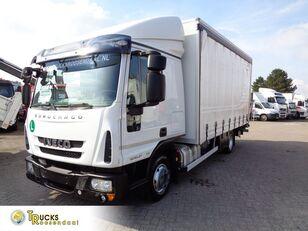IVECO Eurocargo 80EL21 Manual + Euro 6 + Dhollandia Lift camión con lona corredera