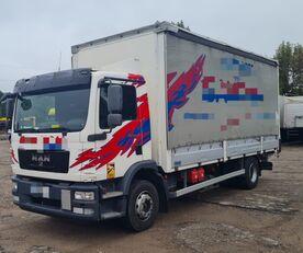 MAN TGM 15.250 from FR, 214000 km camión con lona corredera