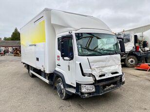 RENAULT D-CAB 180 camión furgón siniestrado