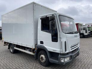 IVECO EuroCargo 75 E17 bakwagen plus laadklep camión furgón
