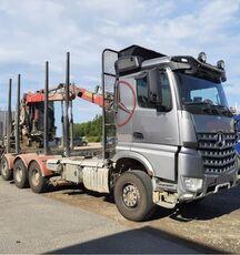 MERCEDES-BENZ 3263 8x4, big axles, no crane camión maderero
