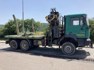 MAN F2000 33.410 camión maderero