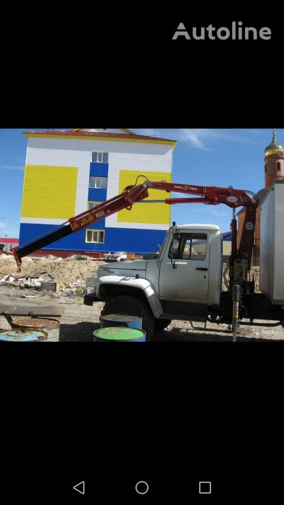 GAZ 33081 camión militar