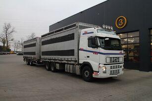 VOLVO FH12.480 6x4 camión para transporte de aves + remolque furgón