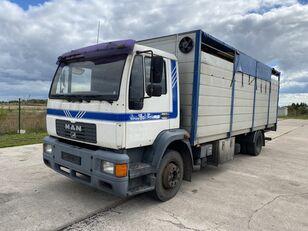 MAN 14.224 4x2 Animal transport camión para transporte de ganado
