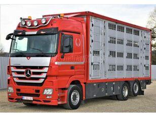 MERCEDES-BENZ Actros 2548 6x2 Élőállat-szállító camión para transporte de ganado
