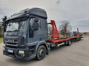 IVECO Eurocargo 140E28 camión portacoches + remolque portacoches