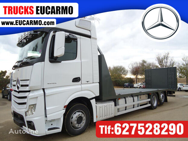 MAN ACTROS 25 45 camión portacoches
