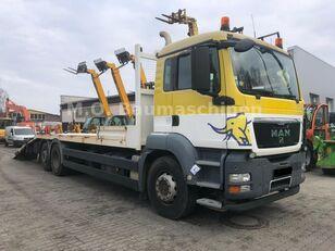 MAN TGS 26.360 6x2 Járműszállító Csörlővel és Rámpával camión portacoches