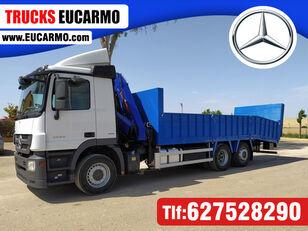 MERCEDES-BENZ ACTROS 25 32 camión portacoches
