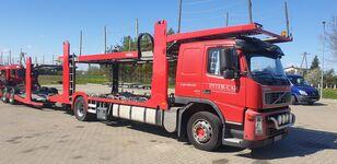 VOLVO FM 400 camión portacoches + remolque portacoches