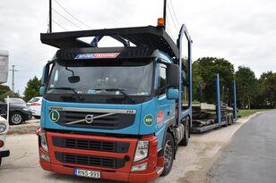 VOLVO FM 460 + LOHR 1.22 camión portacoches + remolque portacoches