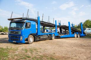 VOLVO FM 4x2 R camión portacoches + remolque portacoches