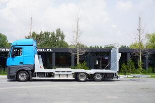 MERCEDES-BENZ Actros 2542 , E6 , MEGA , NEW BODY , car tow 10T , hydraulic ram camión portacoches