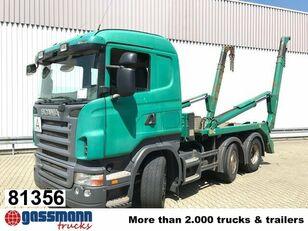 SCANIA R420 camión portacontenedores