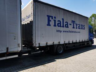 MAN camión toldo + remolque toldo