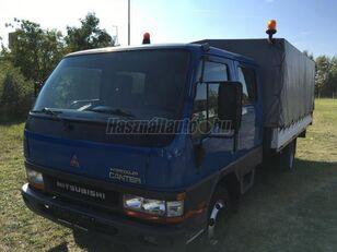 MITSUBISHI CANTER DOKA P+P 4m-es platóval camión toldo