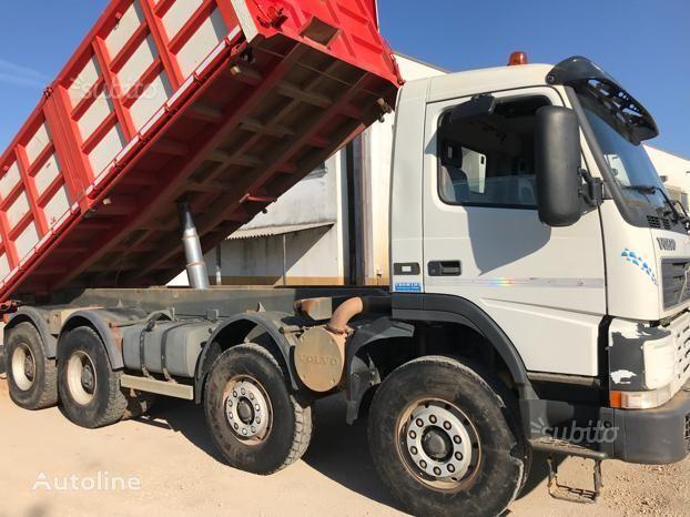 VOLVO FH420 trilaterale camión volquete