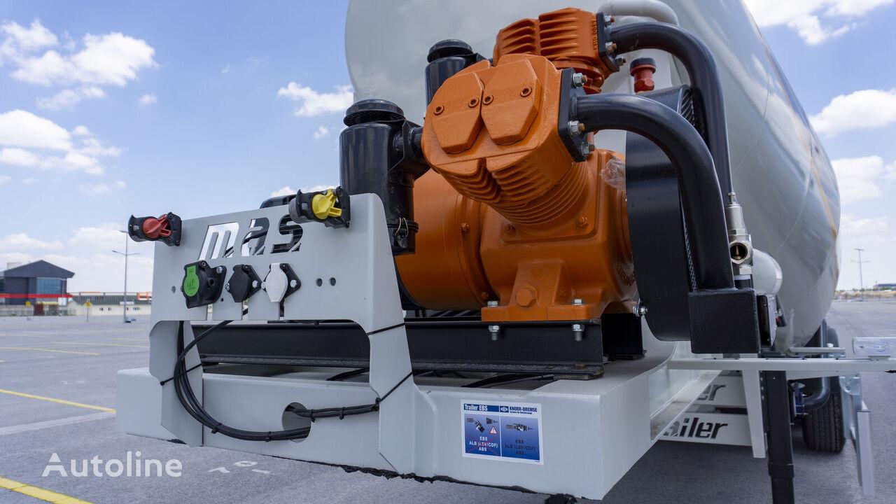 MAS TRAILER TANKER 2020 SİLOBAS cisterna silo nueva