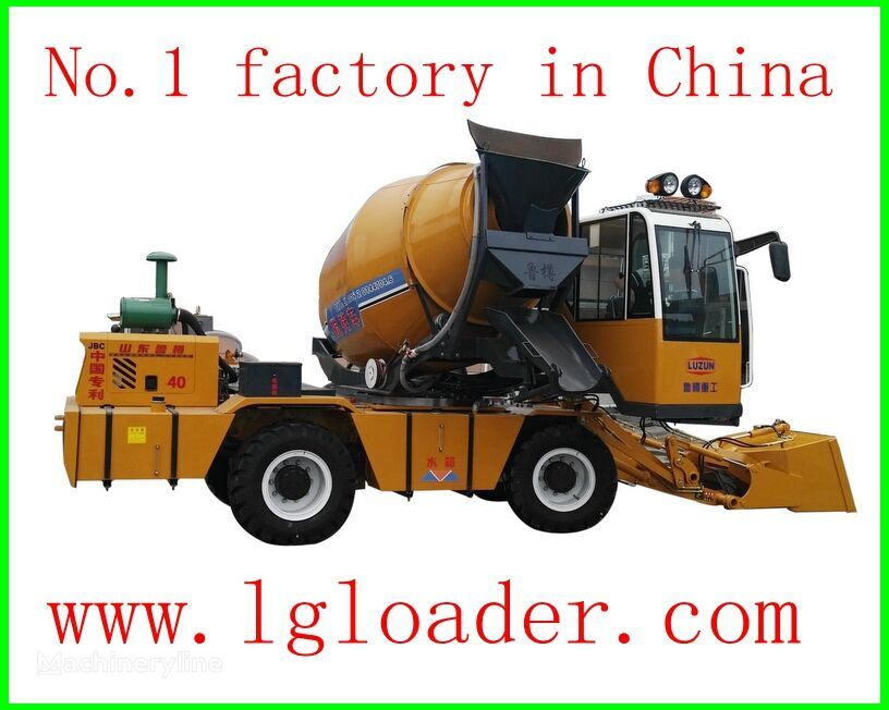 camión hormigonera LUZUN self loading concrete mixer1 nueva