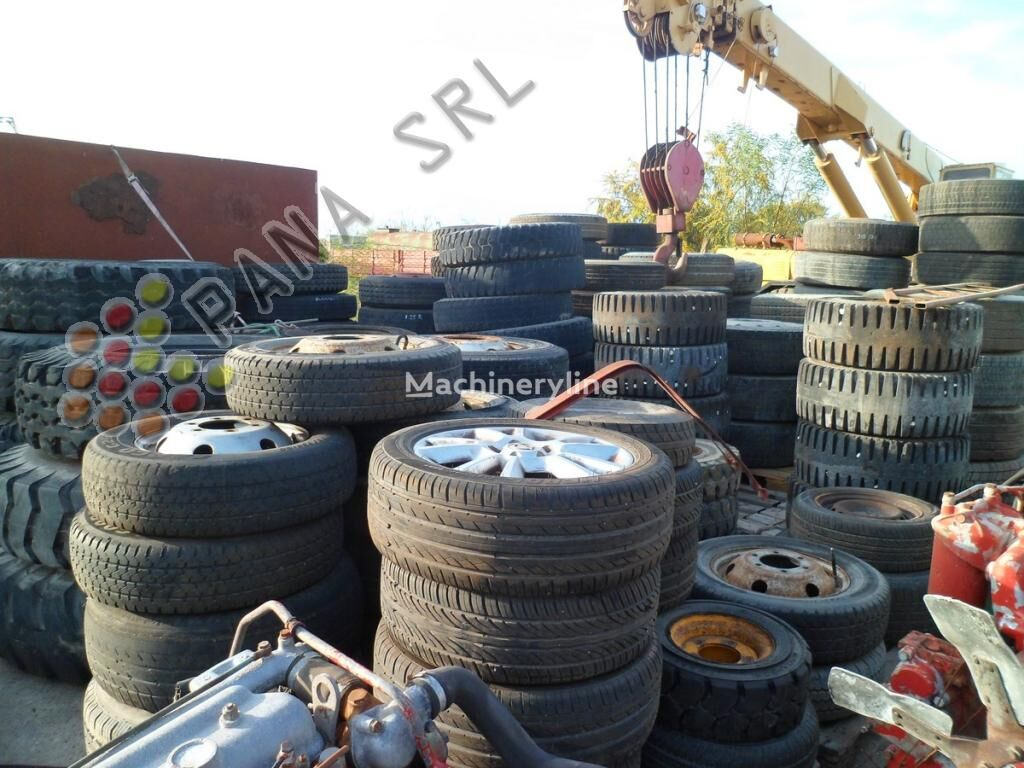 neumático de cargador de rueda