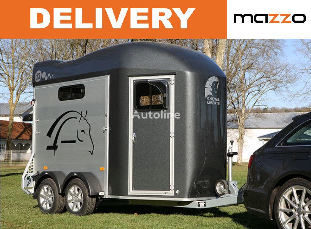 Cheval liberte GOLD 3 - two horses trailer remolque de caballos nuevo