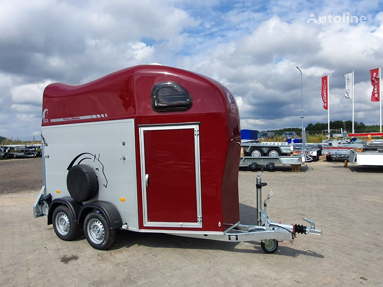 remolque de caballos Cheval liberte Gold 1 one horse trailer nuevo