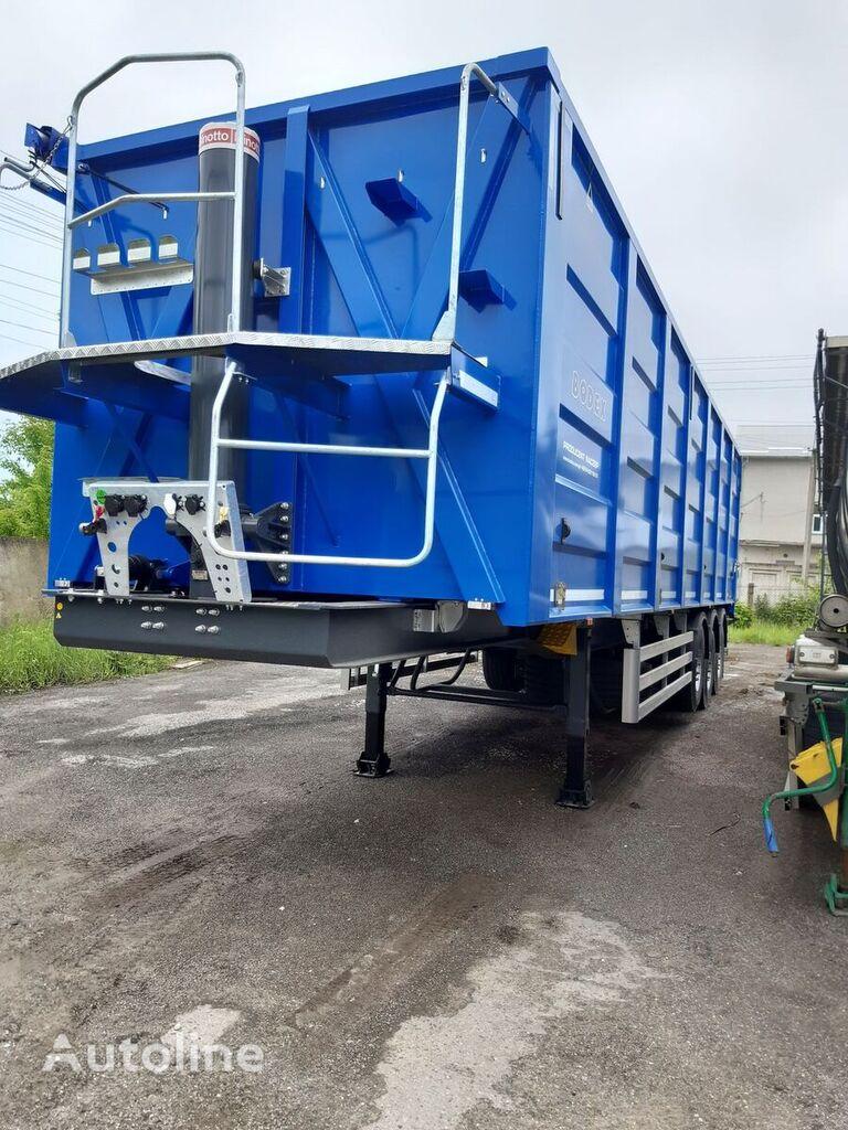 BODEX KIS 3WS semirremolque para transporte de grano nuevo