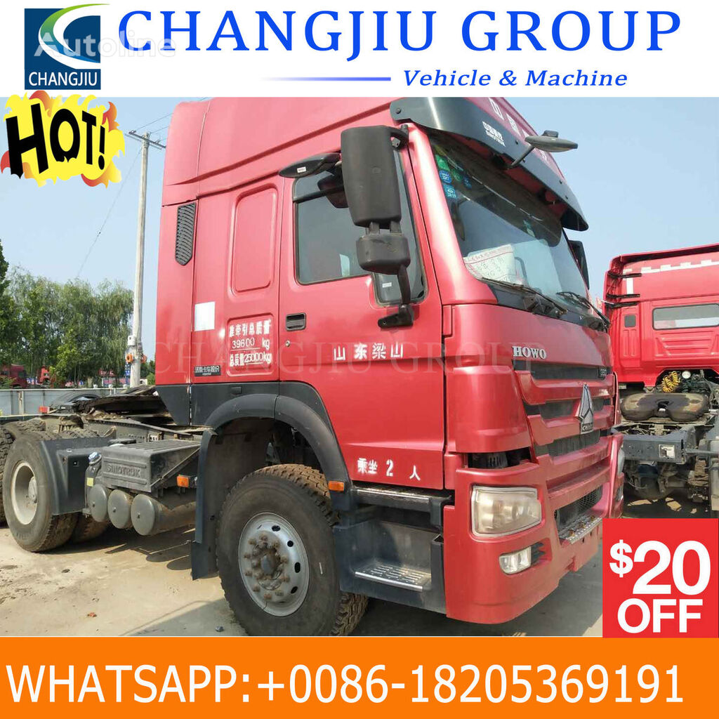 tractora HOWO USED HOWO TRACTOR TRUCK
